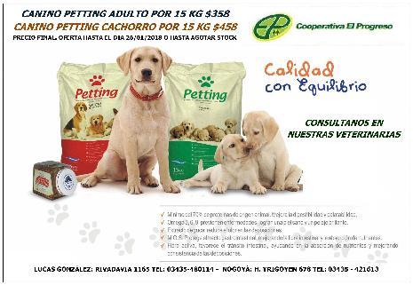<h3><a href='http://caelprogreso.com.ar/novedades/#97' title='# Alimentos Pequeños Animales'># Alimentos Pequeños Animales</a></h3><span>...</span>