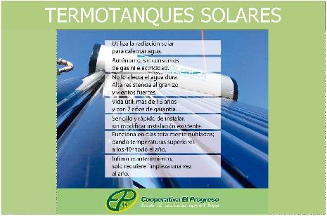<h3><a href='http://caelprogreso.com.ar/novedades/#115' title='# termotanques Solares :: Consultanos y ayudamos a cuidar nuestro planeta!'># termotanques Solares :: Consultanos y ayudamos a cuidar nuestro planeta!</a></h3><span>...</span>